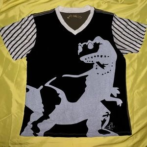 Large Toy Story 3 Rex T-shirt by Jonathan Saunders